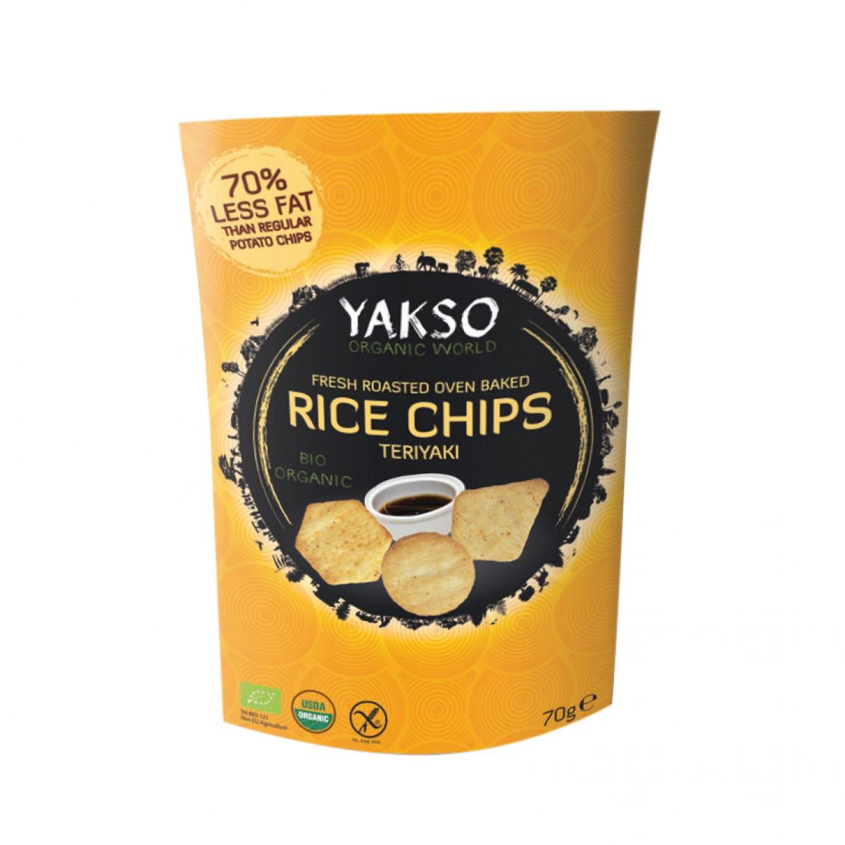 Rijst Chips Teriyaki