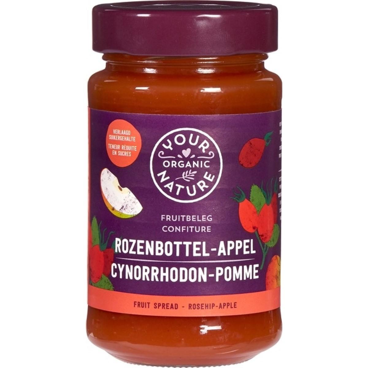 Rozenbottel - Appel Fruitbeleg