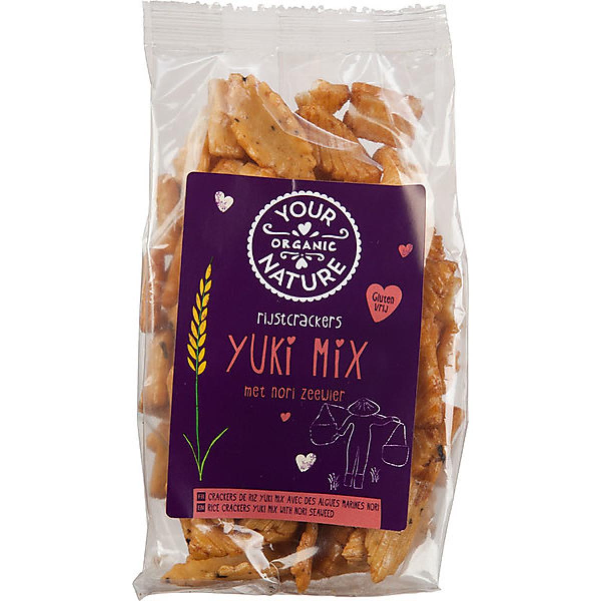 Rijstcrackers Yuki Mix