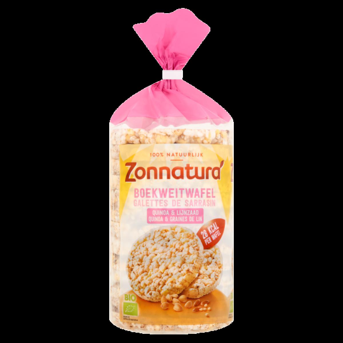 Boekweitwafels Quinoa & Lijnzaad