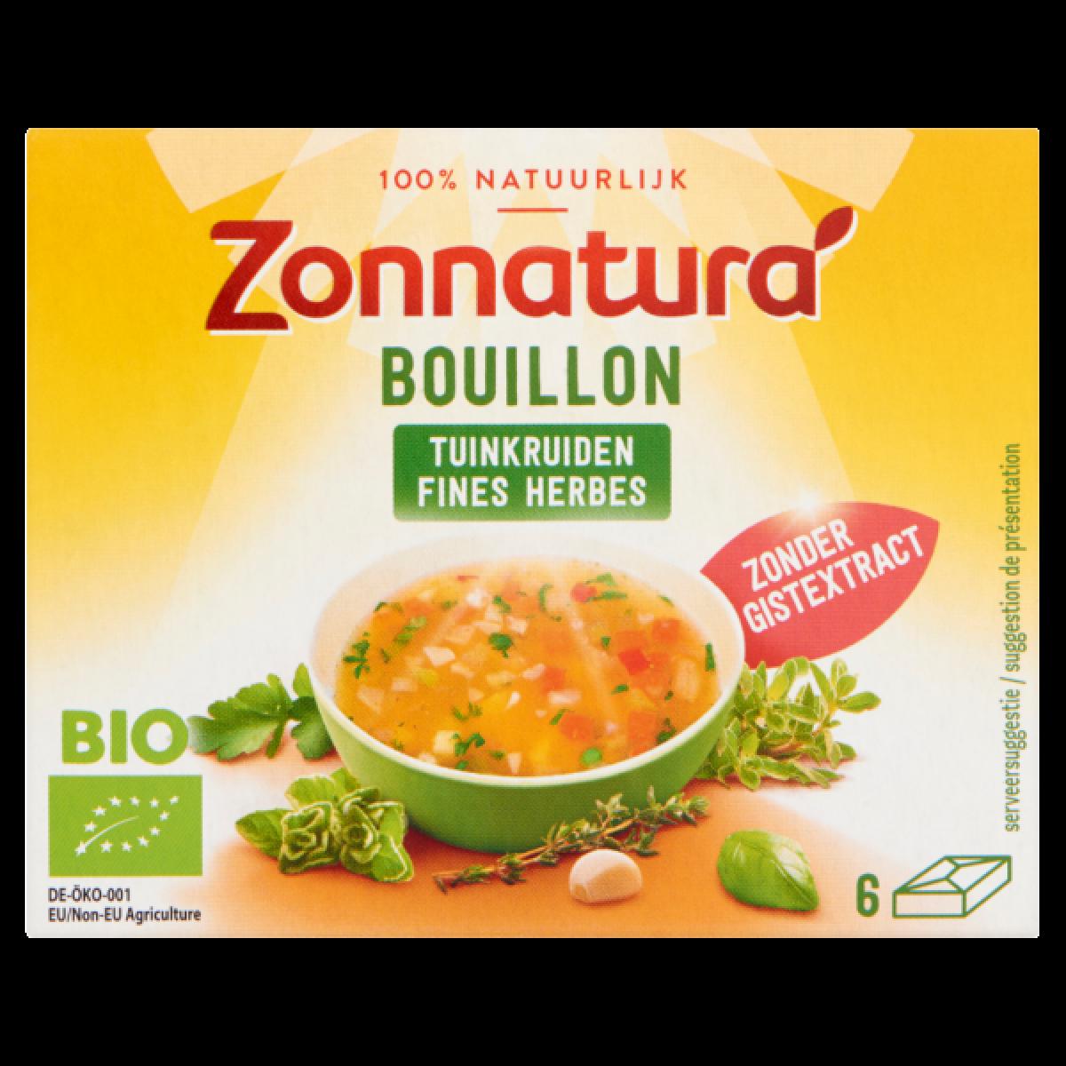 Bouillon Tuinkruiden Zonder Gist