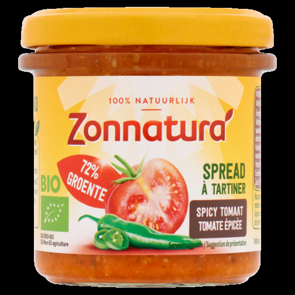 Groentespread Spicy Tomaat