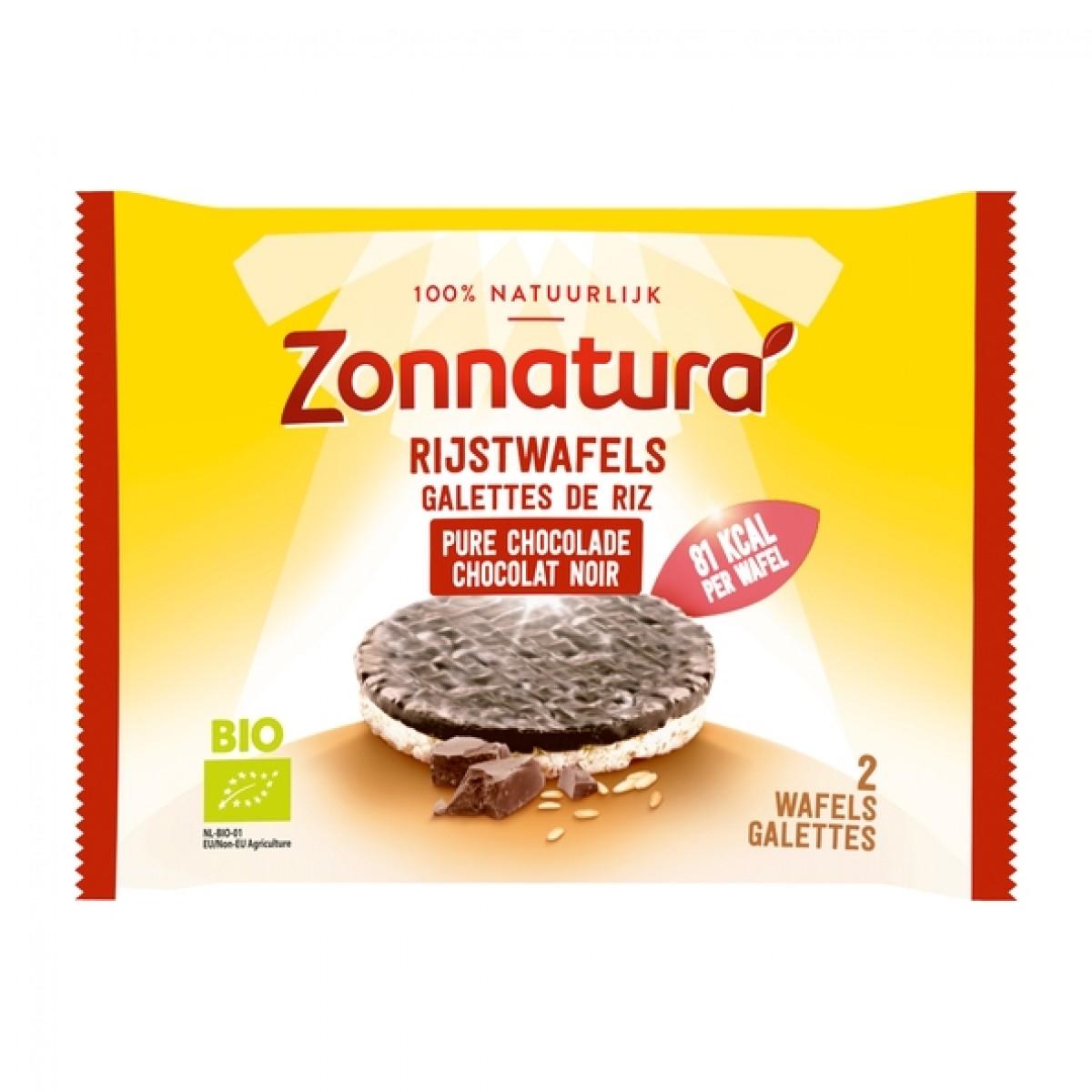Rijstwafels Chocolade Puur Duo-pack