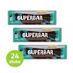 Bonbarr Pure Chocolade Superbar (Doos - 24 stuks) (T.H.T. 01-08-2020)
