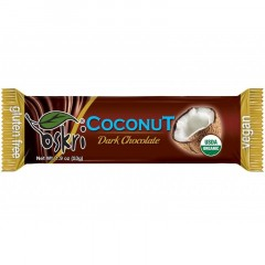 Coconut Dark Chocolate Bar