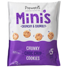 Multipack Mini's Chunky Choc Chip Cookies (T.H.T. 02-2021)