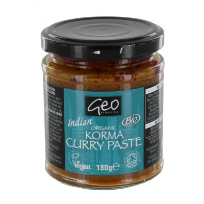 Geo Organics Korma Curry Paste