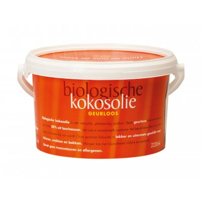 Omega & More Kokosolie Geurloos 2220 ml