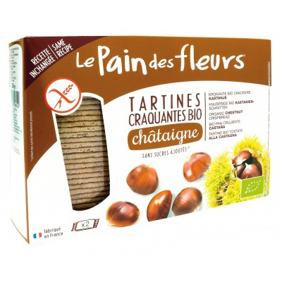 Le Pain des Fleurs Kastanje Crackers Groot