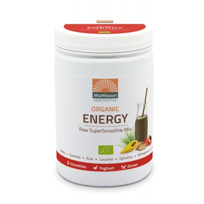 Mattisson Super Smoothie Raw Energy Mix