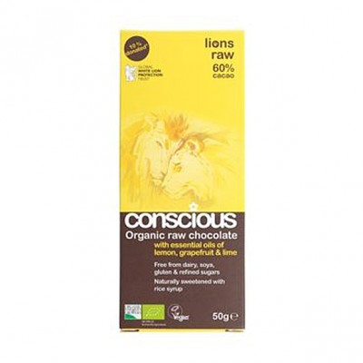 Conscious Raw Chocolate Lions Raw