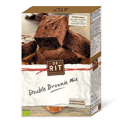 De Rit Double Brownie Mix