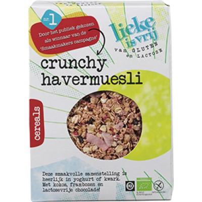 Lieke is vrij Crunchy Havermuesli
