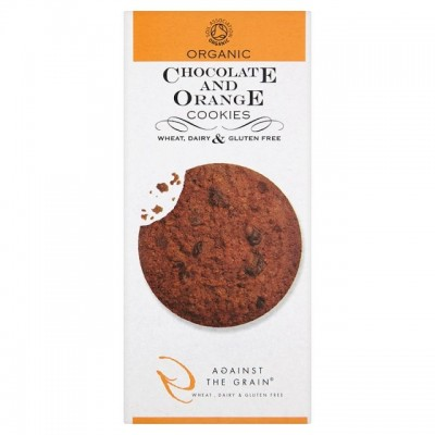 Against the Grain Chocolate & Orange Cookies