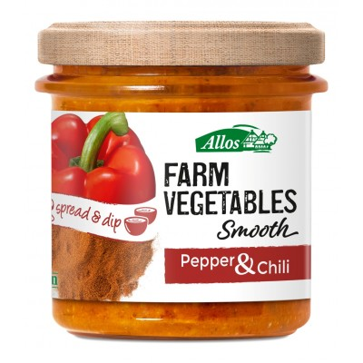 Allos Groentespread Smooth Paprika Chili
