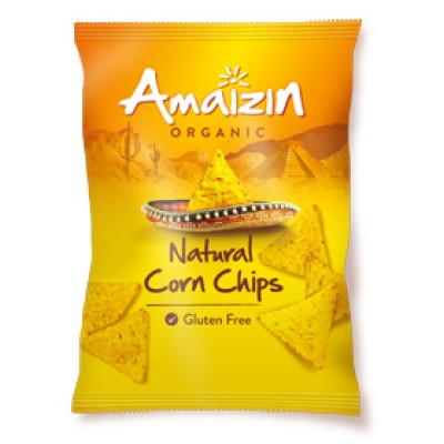 Amaizin Corn Chips Naturel 150 gram