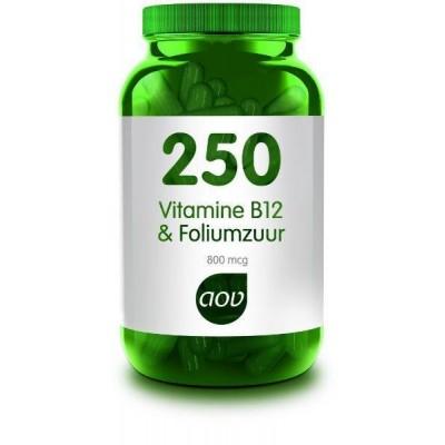 AOV 250 Vitamine B12 & Foliumzuur