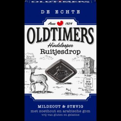 Autodrop Oldtimers Hindelooper Ruitjesdrop