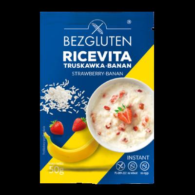 Bezgluten Instant Ontbijtpap Aardbei Banaan