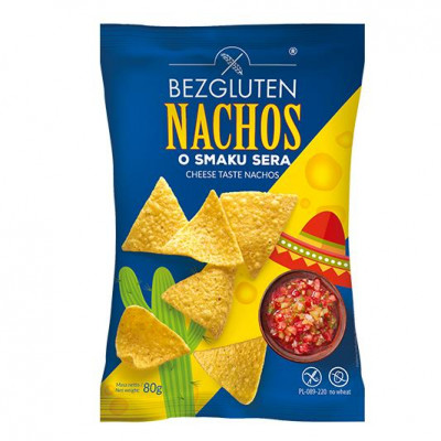 Bezgluten Nachos Cheese