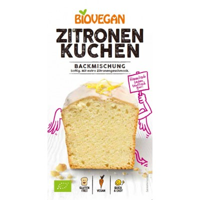Bio Vegan Cakemix Citroen