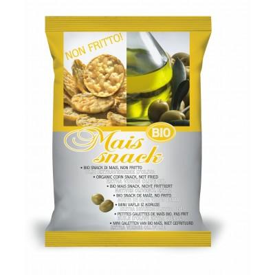 Bio Alimenti Mais Snack Extra Vierge Olijfolie