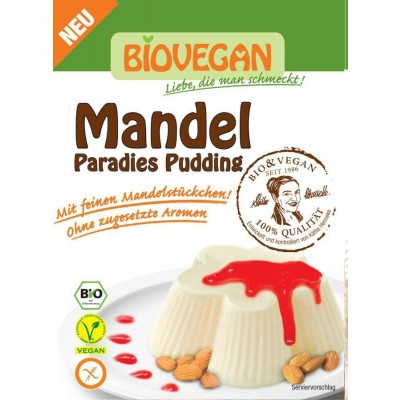 Bio Vegan Amandel Pudding