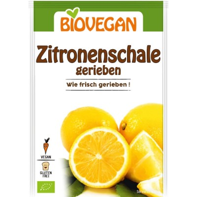 Bio Vegan Citroenschil