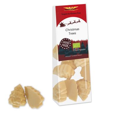 Bonvita Vegan Chocolade Kerstboompjes Wit