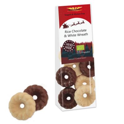 Bonvita Vegan Chocolade Kerstkransjes Mix
