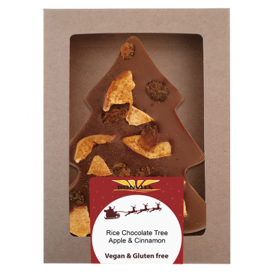 Bonvita Vegan Chocolade Kerstboom Appel & Kaneel