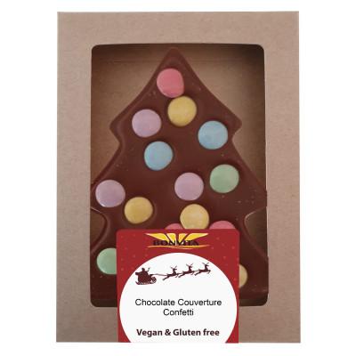 Bonvita Vegan Chocolade Kerstboom Confetti Melk