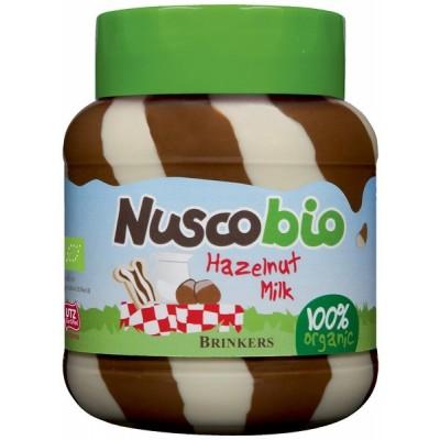 Brinkers Nuscobio Duo Hazelnootpasta