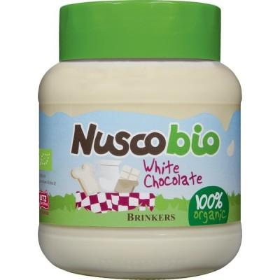Brinkers Nuscobio Witte Chocoladepasta