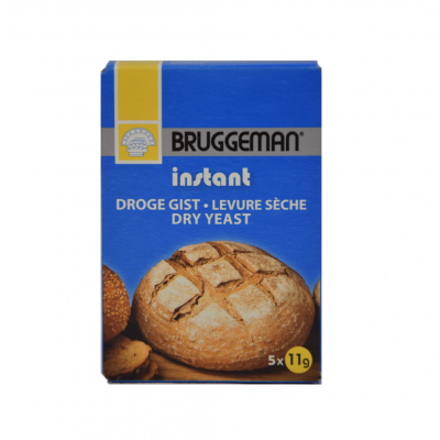 Bruggeman Instant Droge Gist 55 gram (zakjes)