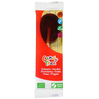 Candy Tree Aardbei Lolly (enkel)