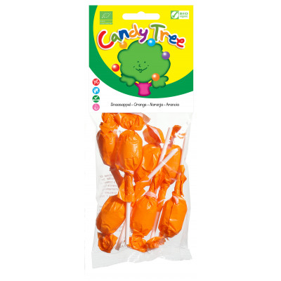 Candy Tree Sinaasappel Lolly's