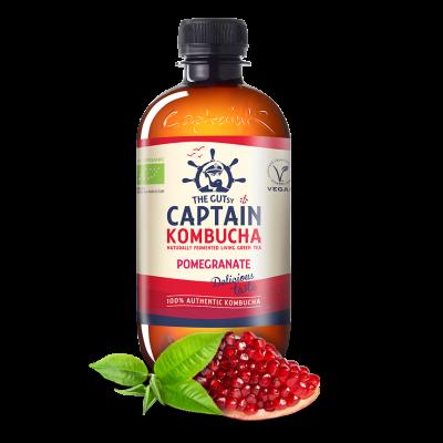Captain Kombucha Kombucha Pomegranate