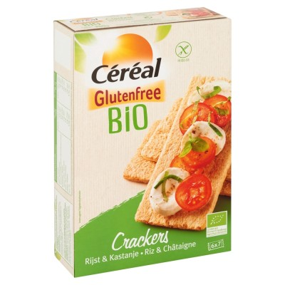 Céréal Crackers Rijst & Kastanje
