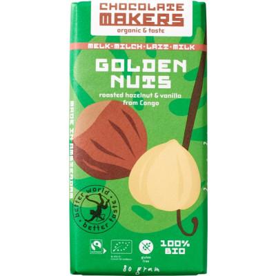 Chocolatemakers Chocoladetablet Golden Nuts
