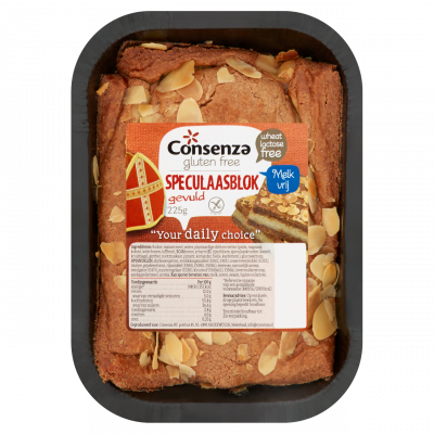 Consenza Gevuld Speculaas