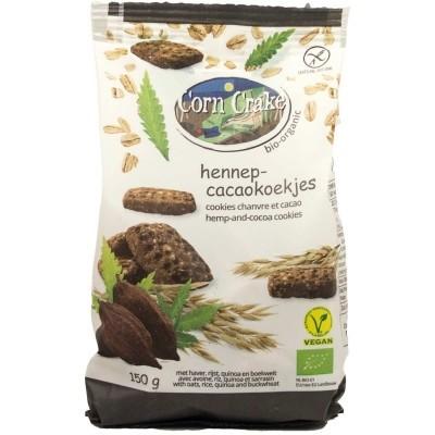 Corn Crake Hennep Cacaokoekjes