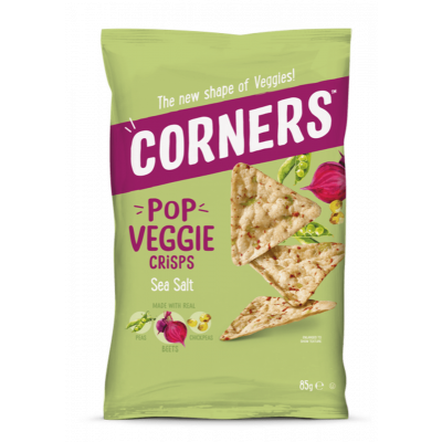 Corners Pop Veggie Crisps Sea Salt