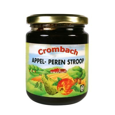 Crombach Appel-Peren Stroop Biologisch