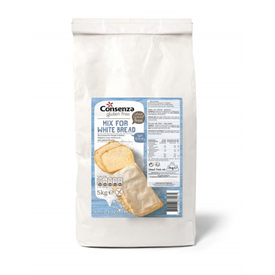 Consenza Broodmix Wit 5 kilo