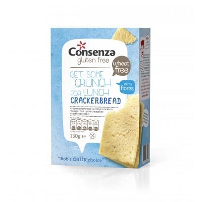 Consenza Luchtige Crackers Vezelrijk