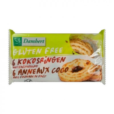 Damhert Kokosringen Met Fruitvulling