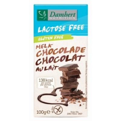 Damhert Melkchocolade Lactosevrij