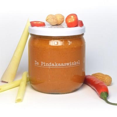 De Pindakaaswinkel Pindakaas Chilipeper Citroengras