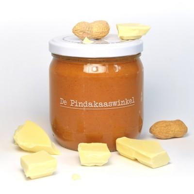 De Pindakaaswinkel Pindakaas Witte Chocola